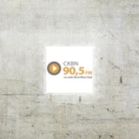 Logo of radio station CKBN 90.5 FM