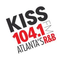 Logo de la radio WALR-FM KISS 104.1