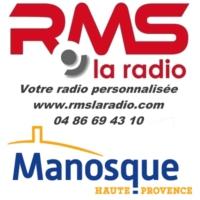 Logo of radio station RMS MANOSQUE