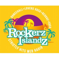 Logo of radio station Rockerz Islandz