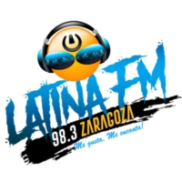 Logo of radio station Latina fm 98.3 Zaragoza