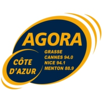 Logo of radio station Agora Côte d'Azur