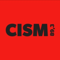 Logo of radio station CISM 89.3 FM
