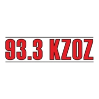 Logo of radio station 93.3 KZOZ-FM