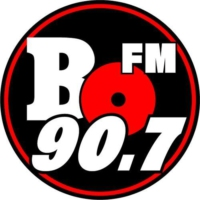 Logo of radio station CFBO-FM BO FM 90.7