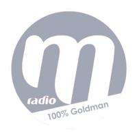 Logo of radio station M Radio 100% Goldman