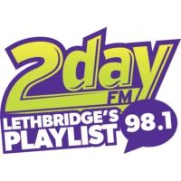 Logo of radio station CKBD 98.1 2day FM