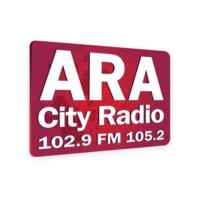 Logo of radio station ARA City Radio