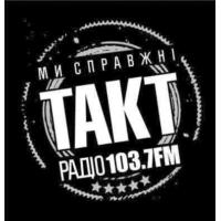 "Logo of radio station Радіо ""ТАКТ"" 103.7FM"