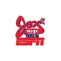 Logo of radio station WJQX ESPN 100.5 Jox 2