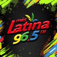 Logo of radio station XHRN Más Latina 96.5