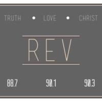 Logo of radio station Rev radio