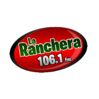 Logo of radio station XHLTZ La Ranchera 106.1 FM