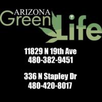 Logo de la radio Arizona Green Life Radio