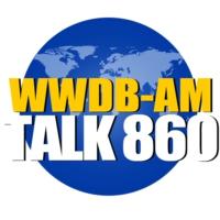 Logo of radio station WWDB Talk 860