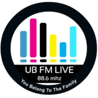 Logo of radio station UB FM LIVE