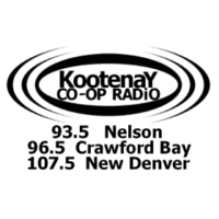 Logo of radio station CJLY Kootenay CO-OP Radio 93.5 FM