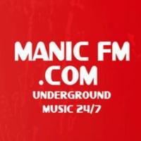Logo of radio station Manic FM