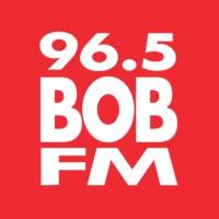 Logo of radio station WFLB 96.5 BOB FM
