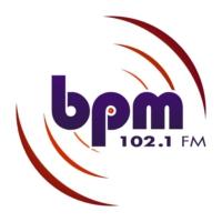 Logo of radio station BPM 102.1 FM