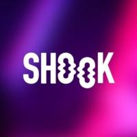 Logo of radio station SHOOK 104.4