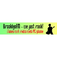 Logo of radio station BrooklynFM