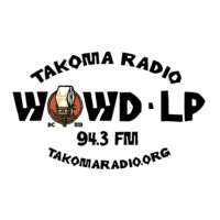 Logo of radio station Takoma Radio WOWD 94.3