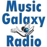 Logo of radio station Music Galaxy Radio
