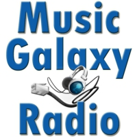 Logo of radio station Music Galaxy Radio