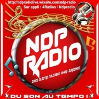 Logo of radio station NDP RADIO
