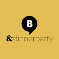 Logo de la radio & Dinnerparty. Von barba radio