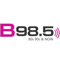 Logo of radio station WSB-FM B 98.5