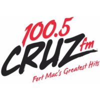 Logo of radio station 100.5 CRUZ FM