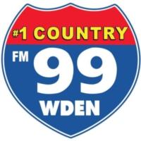 Logo of radio station 99 WDEN