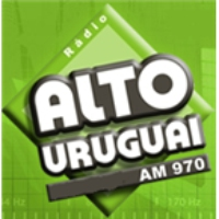 Logo of radio station Alto Uruguai AM