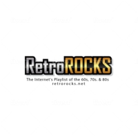 Logo of radio station RetroROCKS!