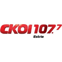 Logo of radio station CKOI 107.7 Estrie