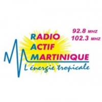 Logo of radio station Radio Actif Martinique