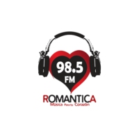 Logo of radio station XHTO Romantica 98.5 FM