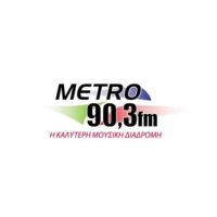 Logo of radio station Metró 90.3 - Μετρό 90.3