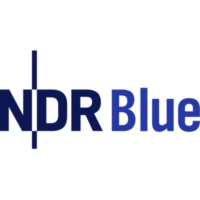Logo of radio station NDR Blue