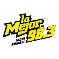 Logo de la radio La Mejor 98.3 FM