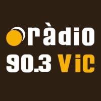 Logo of radio station Ràdio Vic