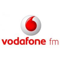 Logo of radio station Vodafone FM