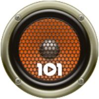 Logo of radio station 101.ru - Русский Рок