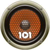 Logo de la radio 101.ru - Русский Рок