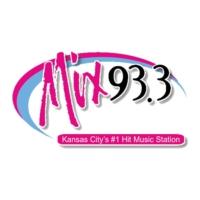 Logo of radio station KMXV Mix 93.3