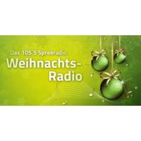 Logo de la radio 105.5 Spreeradio Weihnachtsradio