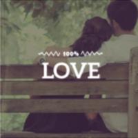 Logo of radio station 100FM - Love