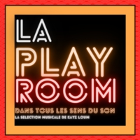 Logo of radio station LA PLAYROOM